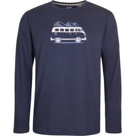 Elkline Country - Camiseta de manga larga Hombre - azul